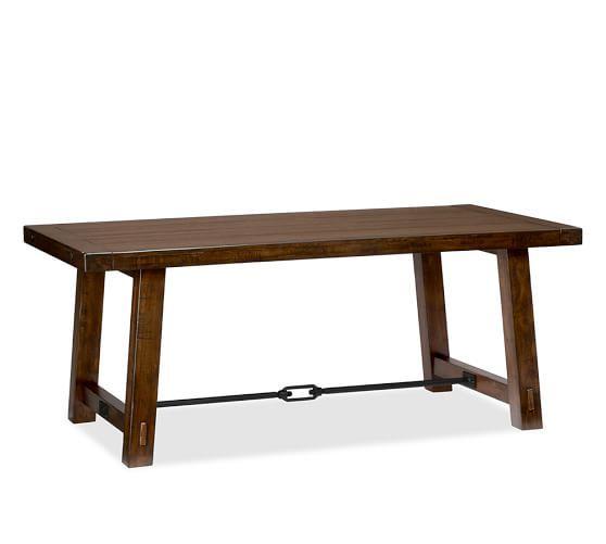 Gray Wash Benchwright Dining Tables Regarding Fashionable Benchwright Dining Table, Gray Wash (#9 of 20)