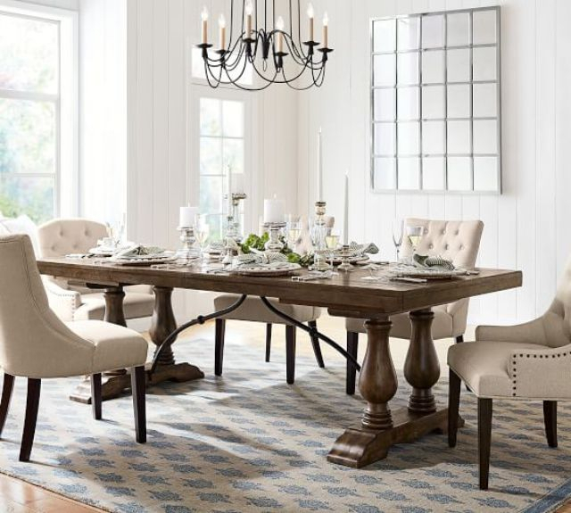 Gray Wash Lorraine Extending Dining Tables Intended For Widely Used The 9 Best Dining Room Tables Of  (#11 of 20)