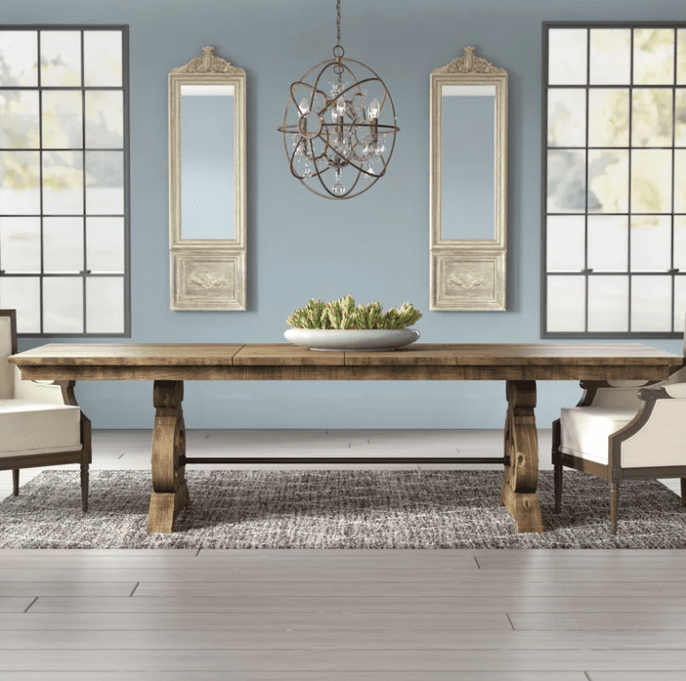 Gray Wash Lorraine Extending Dining Tables Regarding Popular The 9 Best Dining Room Tables Of  (#13 of 20)