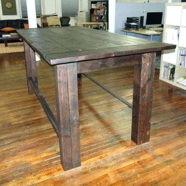 Griffin Reclaimed Wood Bar Height Tables Inside Favorite Griffin Wrought Iron Reclaimed Wood Bar Height Table Custom (#7 of 30)