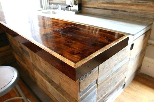 Griffin Reclaimed Wood Bar Height Tables Pertaining To Well Known Reclaimed Wood Bar – Robertofloyd (#12 of 30)