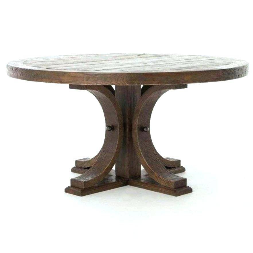 Hart Reclaimed Wood Extending Dining Tables With Well Known Banks Reclaimed Wood Extending Dining Table Hart Round (#15 of 30)