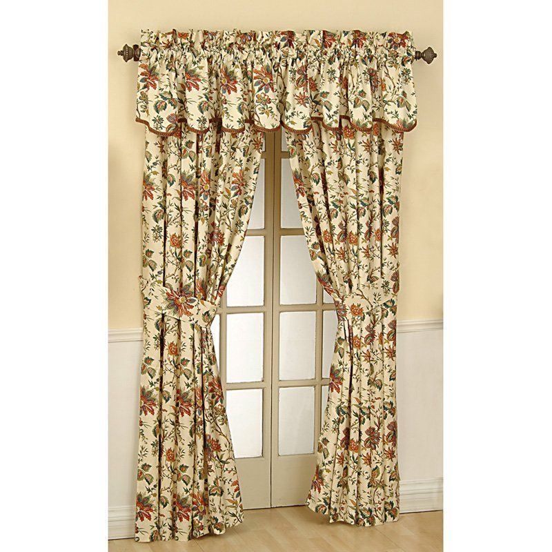 Have To Have It. Waverly Felicite Curtain Panel $ (View 2 of 45)