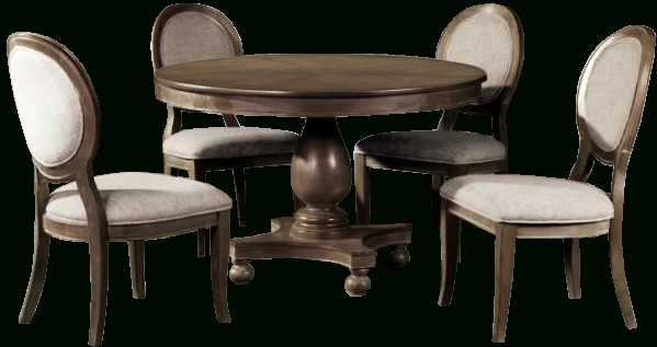 Hewn Oak Lorraine Extending Dining Tables In Best And Newest Bloomingdale 5 Piece Dining Set (#8 of 30)