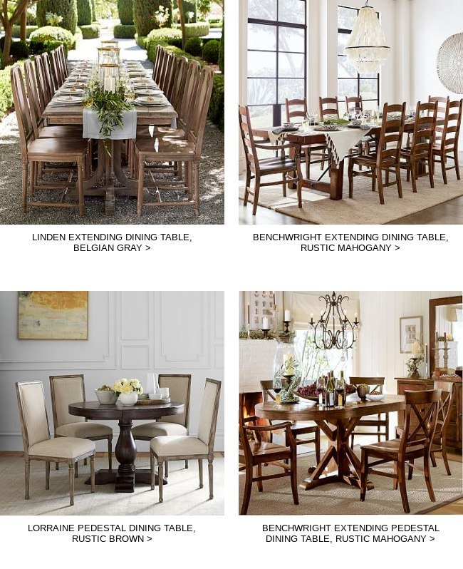Hewn Oak Lorraine Pedestal Extending Dining Tables Intended For Preferred Handpicked For You! These Great Items Will Be Your New (#4 of 20)