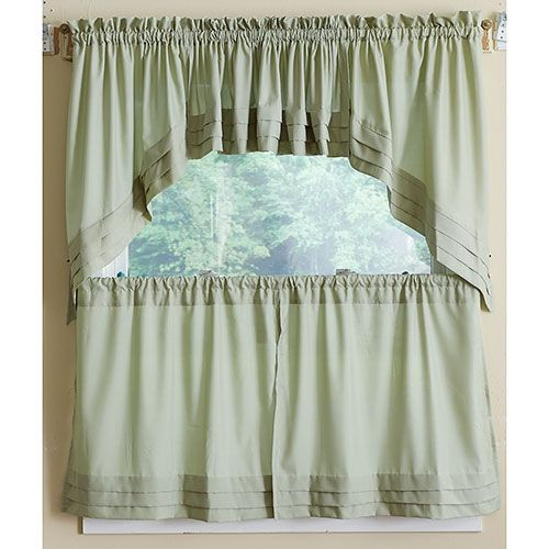 Holden Pleated Tier Curtain | Boscov's – Available In For Pleated Curtain Tiers (View 3 of 50)