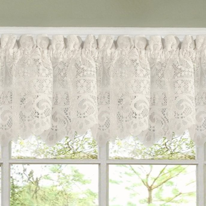 Home Decor : 14 Kitchen Curtains Popular Chf You Cottage Ivy Pertaining To Cottage Ivy Curtain Tiers (#31 of 49)
