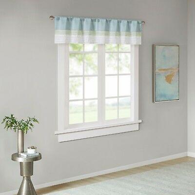Home Essence Salem Polyoni Pintuck Lined Window Valance 675716700188 | Ebay Regarding Hudson Pintuck Window Curtain Valances (View 11 of 30)