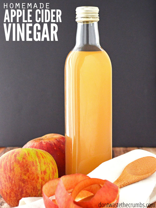 Homemade Apple Cider Vinegar Within Apple Orchard Printed Kitchen Tier Sets (View 26 of 50)