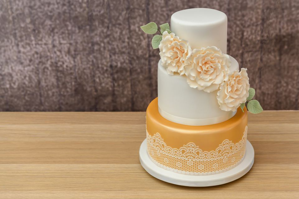 How To Bake And Decorate A 3 Tier Wedding Cake Intended For Touch Of Spring 24 Inch Tier Pairs (#12 of 30)