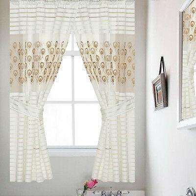 "Hudson Pintuck Window Curtain Panel Pair 63""x38"" – $ (View 14 of 30)"