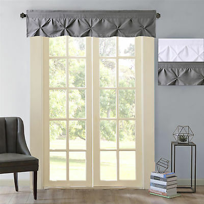 "Hudson Pintuck Window Curtain Valance 12""x60 – $ (#17 of 43)"