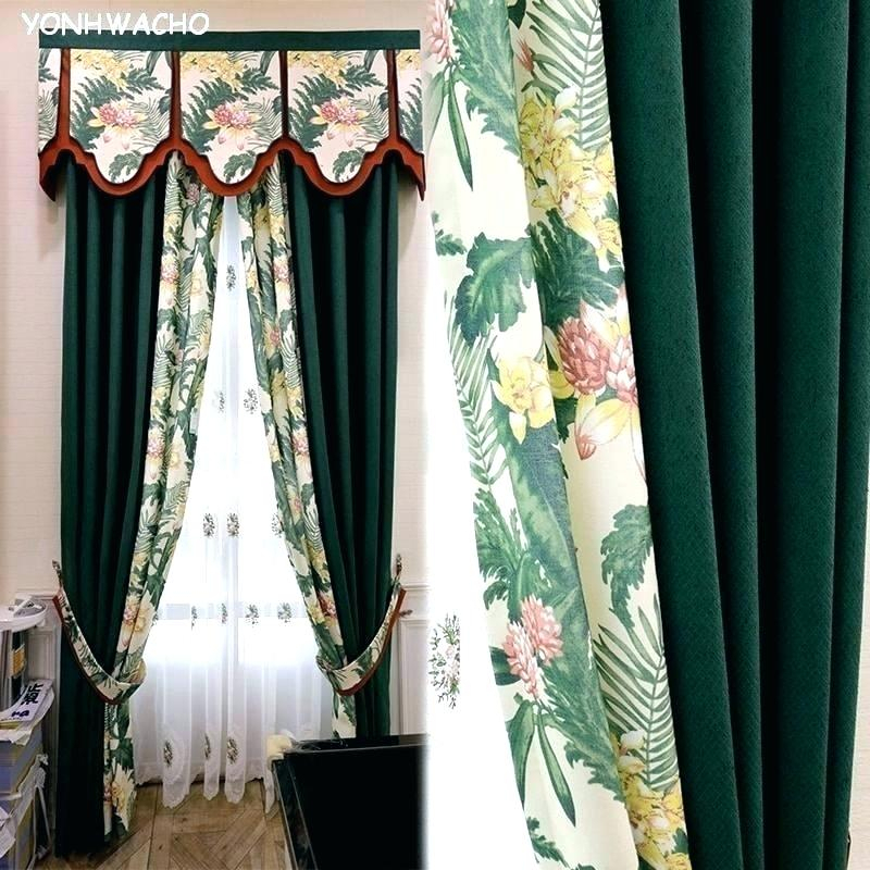 Hunter Green Valance – Assisters (View 14 of 30)