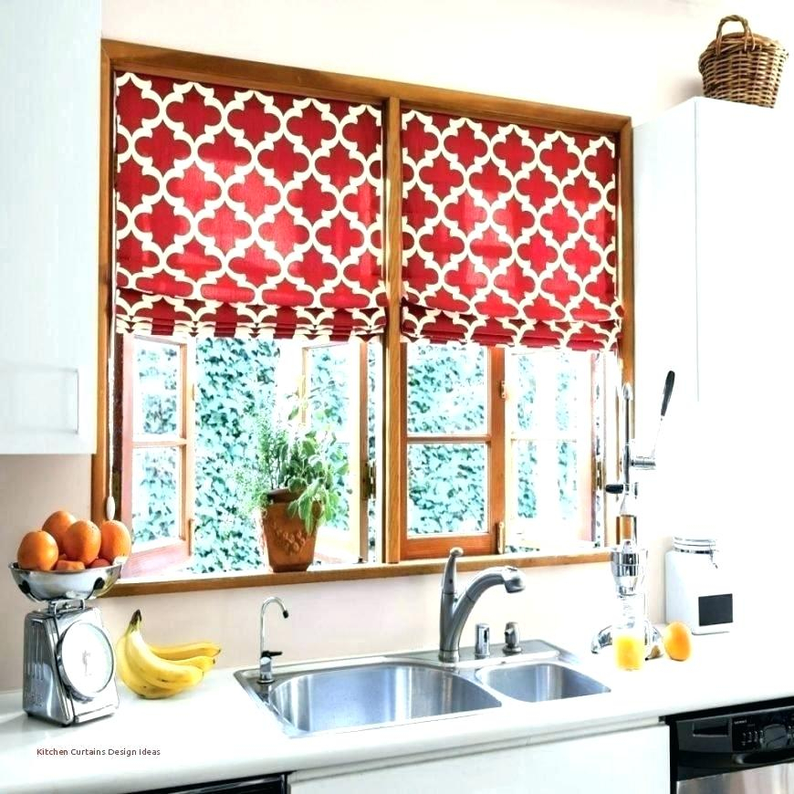 Ideas For Kitchen Curtains Contemporary Red Modern Designer Within Red Rustic Kitchen Curtains (#15 of 30)