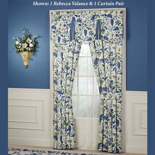 Inspiration about Imperial Dress Window Treatment Pertaining To Imperial Flower Jacquard Tier And Valance Kitchen Curtain Sets (#38 of 46)