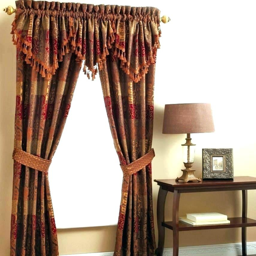 Inspiration about Inch Curtains Target Drop In Cm Blackout Inches Long Shop Intended For Traditional Two Piece Tailored Tier And Valance Window Curtains (#49 of 50)