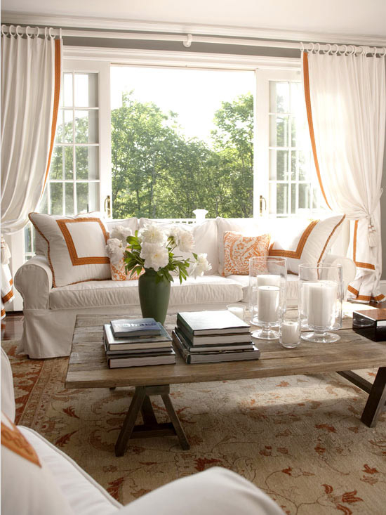Inspiration about Incredible Sales On Classic Grey Cotton Blend Plaid Regarding Class Blue Cotton Blend Macrame Trimmed Decorative Window Curtains (#28 of 30)