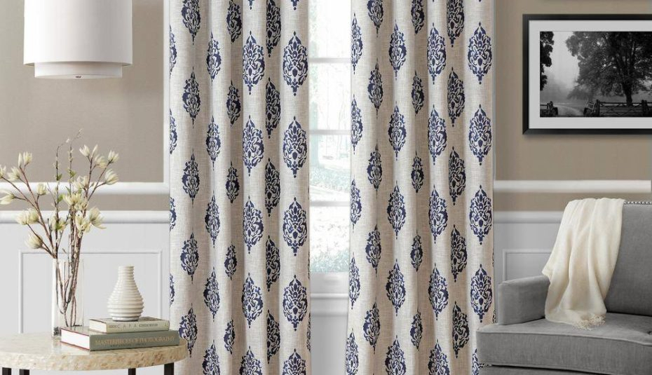 Inspiration about Interiors Window Coverings For Bedrooms Bedroom Curtains Regarding Scroll Leaf 3 Piece Curtain Tier And Valance Sets (#11 of 50)
