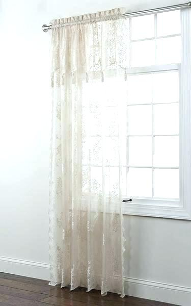 Ivory Lace Curtains – Shopsilver (View 9 of 50)