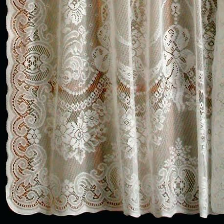 Ivory Lace Curtains – Shopsilver (View 11 of 50)