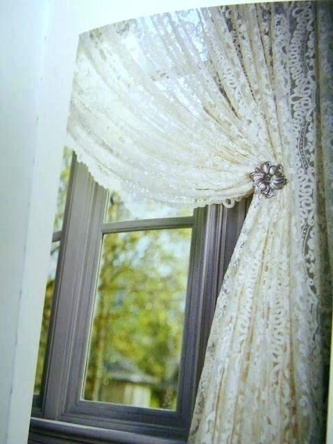 Ivory Lace Curtains – Shopsilver (View 10 of 50)