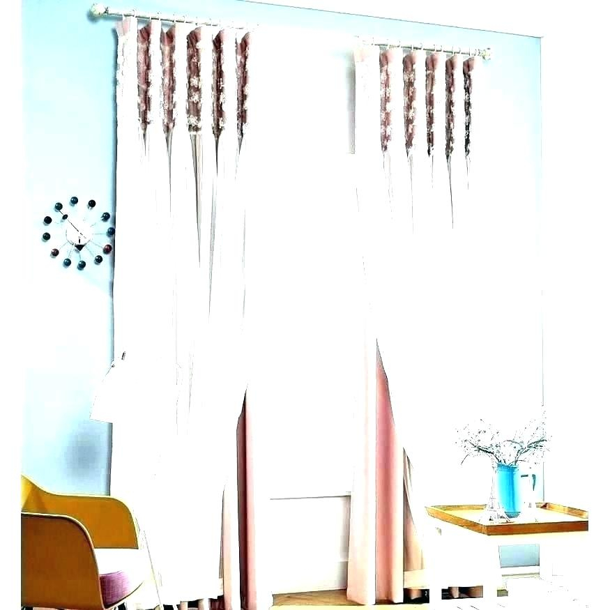 Inspiration about Ivory Lace Curtains – Shopsilver.co With Ivory Knit Lace Bird Motif Window Curtain (#15 of 50)