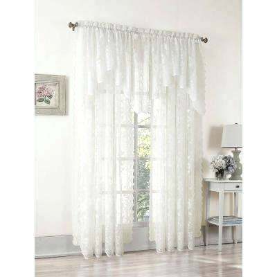 Ivory Lace Curtains – Shopsilver (View 15 of 50)