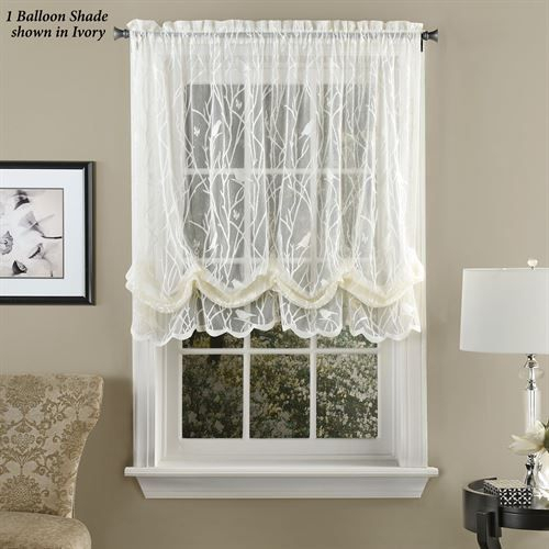 Ivory Micro Striped Semi Sheer Window Curtain Pieces – Tiers For Micro Striped Semi Sheer Window Curtain Pieces (#10 of 30)