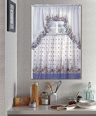 Jc Penny Window Curtains, Swag Kitchen Curtains Tier Sets Throughout Kitchen Window Tier Sets (#26 of 50)