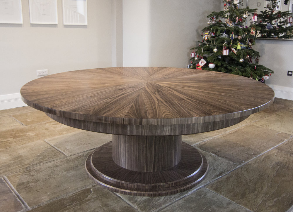 Johnson Round Pedestal Dining Tables Intended For Recent Dining Tables — Johnson Furniture (View 20 of 20)