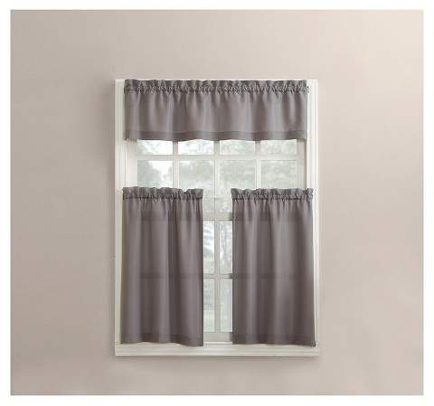 Kitchen Curtains And Valances – Shopstyle Inside Scroll Leaf 3 Piece Curtain Tier And Valance Sets (View 22 of 50)