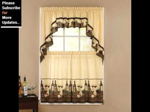 Kitchen Curtains Collection| Curtains & Window Coverings Intended For Luxury Collection Kitchen Tiers (#20 of 50)