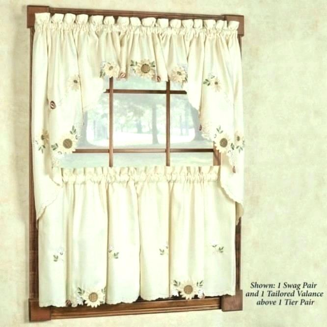 Kitchen Curtains Kohls Cool Curtain Panels Amazon Shades For Throughout Luxurious Kitchen Curtains Tiers, Shade Or Valances (#14 of 50)
