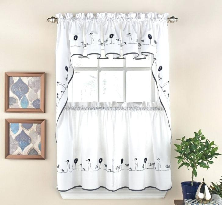 Kitchen Curtains Tiers Valances – Bitcoinecuador In Pleated Curtain Tiers (View 16 of 50)