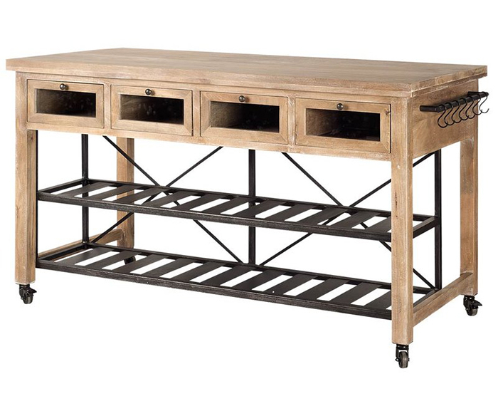 Kitchen Islands On The Go With 2019 Elworth Kitchen Island (#10 of 20)