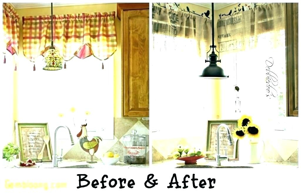 Kitchen Light Shades Ideas Curtain For Large Windows Window In Luxurious Kitchen Curtains Tiers, Shade Or Valances (#16 of 50)
