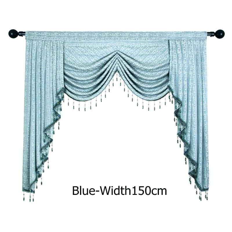 Kitchen Swag Valance – Mzamin With Luxurious Kitchen Curtains Tiers, Shade Or Valances (#17 of 50)