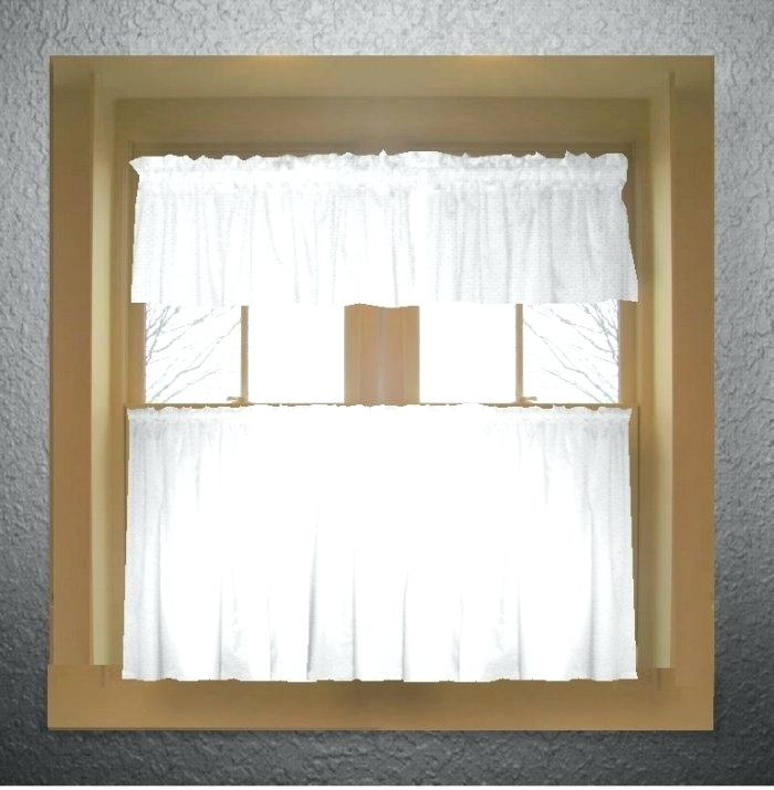 Kitchen Tiered Curtains – Bankyou (#36 of 49)
