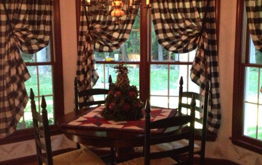 Kitchens Kitchen Curtains Ideas Photos Country Tier Target Inside Classic Black And White Curtain Tiers (View 27 of 50)