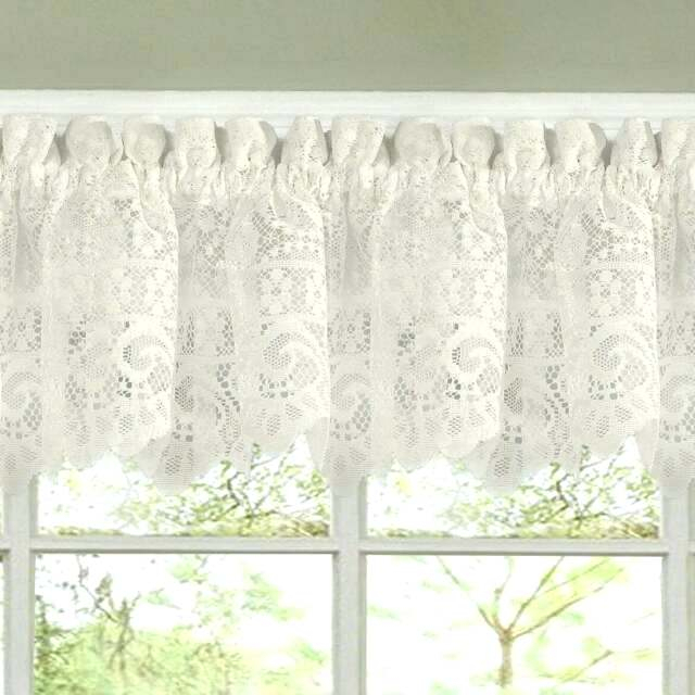 Inspiration about Lace Kitchen Curtains – Buzzgo.co In Luxurious Kitchen Curtains Tiers, Shade Or Valances (#8 of 50)