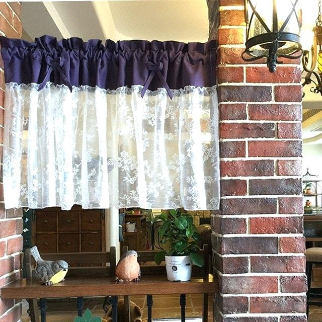 Lace Kitchen Curtains – Wethepeopleoklahoma Intended For Luxury Collection Kitchen Tiers (#28 of 50)