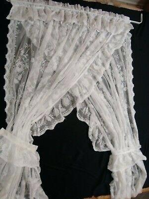 Inspiration about Lace Priscilla Curtains – Openhub Inside Elegant White Priscilla Lace Kitchen Curtain Pieces (#11 of 30)