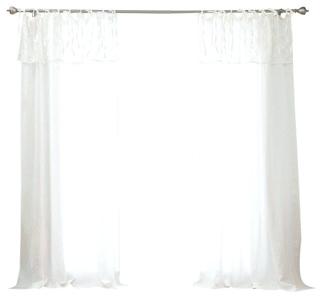 Inspiration about Lace Valance Curtains – Brickandwillow.co For Ivory Knit Lace Bird Motif Window Curtain (#45 of 50)