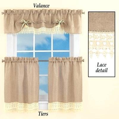 Lace Valance Curtains – Brickandwillow (#25 of 50)