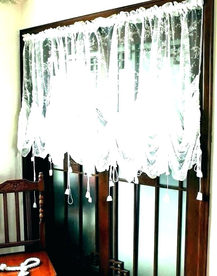 Inspiration about Lace Valances And Swags – Masfashion.co In Fluttering Butterfly White Embroidered Tier, Swag, Or Valance Kitchen Curtains (#49 of 50)