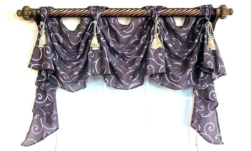 Lace Valances And Swags – Masfashion (View 32 of 50)