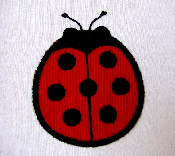 Lady Bug Machine Embroidery Design – Free Embroidery Patterns Pertaining To Embroidered Ladybugs Window Curtain Pieces (View 22 of 50)