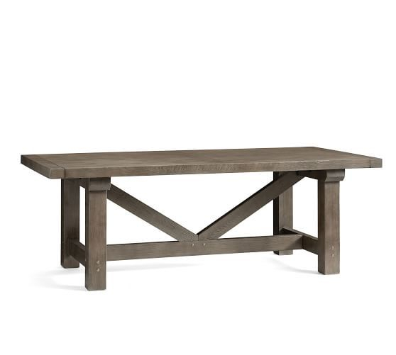 Landon Reclaimed Wood Extending Dining Table In 2019 For Well Known Gray Wash Livingston Extending Dining Tables (#15 of 30)