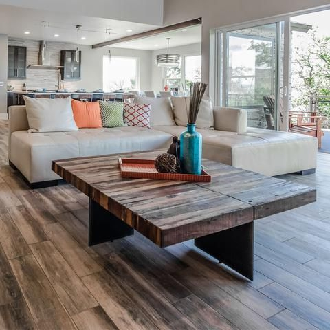 Langton Reclaimed Wood Dining Tables With Regard To Most Popular Beckwourth Coffee Table (#18 of 30)