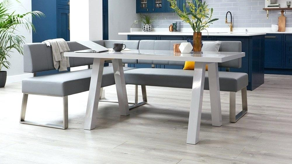 Langton Reclaimed Wood Dining Tables With Regard To Most Recently Released Gray Wood Dining Table – Litology (#20 of 30)